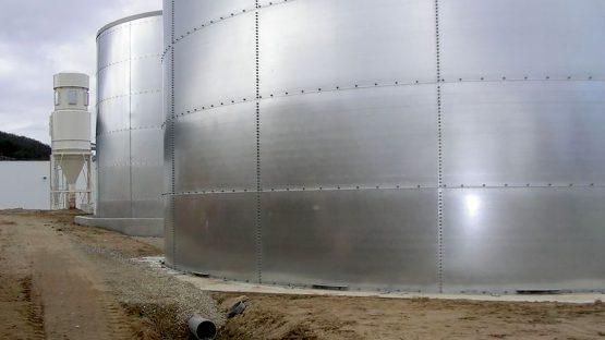 CBIT - ACTIS - Nouvelle unité de production - Bâtiment de stockage - La Bastide de Bousignac (09)