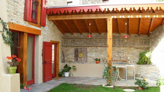 CBIT - Création de 3 chambres d'hôte - Les Volets Rouges - Garanou - Ariège