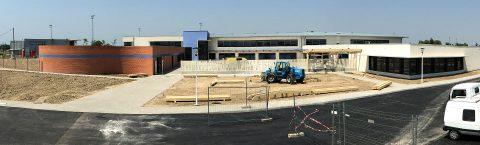 """Construction d'un collège """"400"""" à Mazères"""
