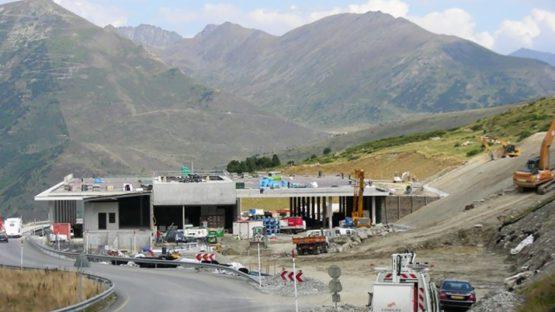 CBIT - Chantier de construction de bureaux de contrôles nationaux juxtaposés de douanes France Andorre