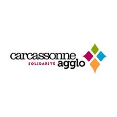 Partenaires CBIT - Logo Carcassonne Agglomération Solidarité