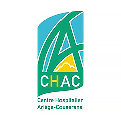 Partenaires CBIT - Logo du Centre Hospitalier d'Ariège-Couserans