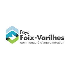 Partenaires CBIT - Logo Communauté de Communes du Pays Foix-Varilhes