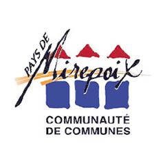 Partenaires CBIT - Logo Communauté de Communes du Pays de Mirepoix