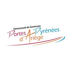 Partenaires CBIT - Logo Communauté de Communes Portes d'Ariège Pyrénées