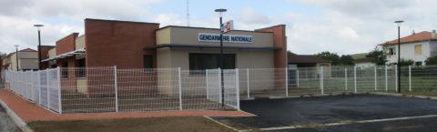 Construction d'une Gendarmerie Nationale à Le Fossat
